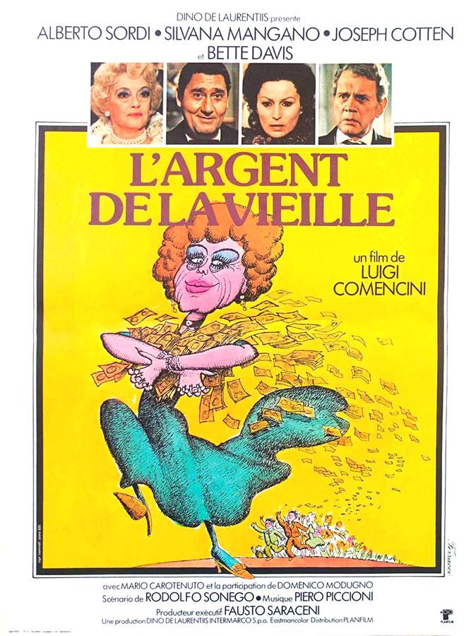 L'Argent de la vieille (Luigi Comencini, 1972)