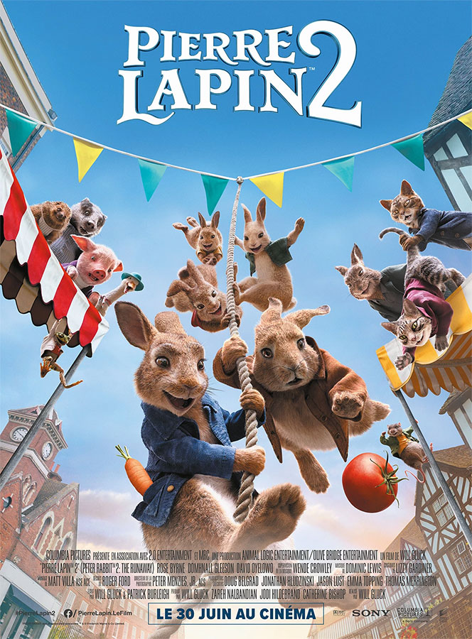 Pierre Lapin 2 : Panique en ville (Will Gluck, 2021)