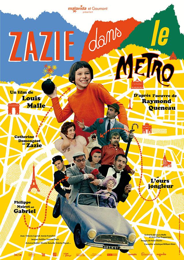 Zazie dans le métro (Louis Malle, 1960)