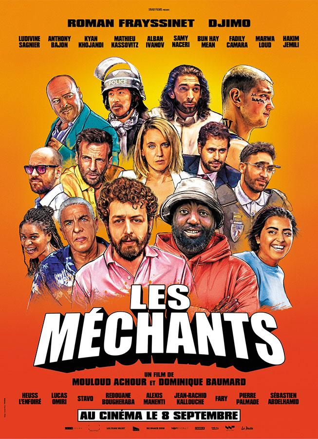 Les Méchants (Mouloud Achour et Dominique Baumard, 2021)
