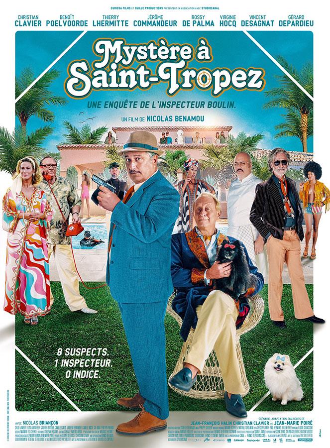 Mystère à Saint-Tropez (Nicolas Benamou, 2021)