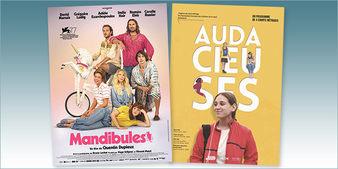 sorties Comédie du 19 mai 2021 : Mandibules, Audacieuses (4 court-métrages)