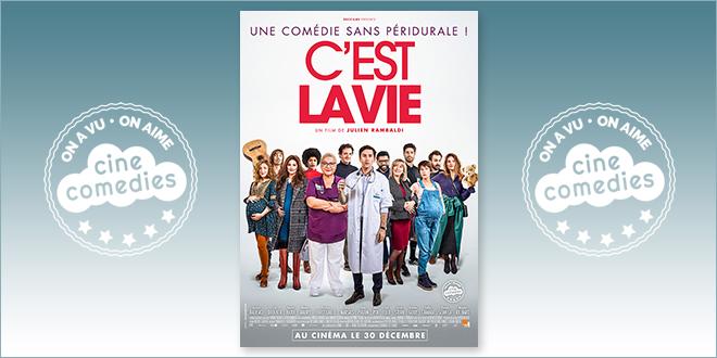 Sortie Comédie du 28 juillet 2021 : C'est la vie (Julien Rambaldi, 2020)