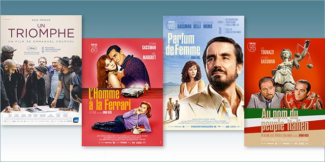 sorties Comédie du 1 septembre 2021 : L'Homme à la Ferrari (1967), Au nom du peuple italien (1971), Parfum de femme (1974)