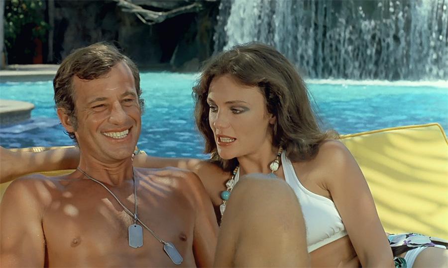 Jean-Paul Belmondo et Jacqueline Bisset dans Le Magnifique (Philippe de Broca, 1973) - © StudioCanal