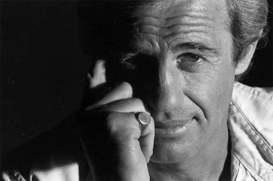 Jean-Paul Belmondo à Cannes en 1977 - © Benjamin Auger