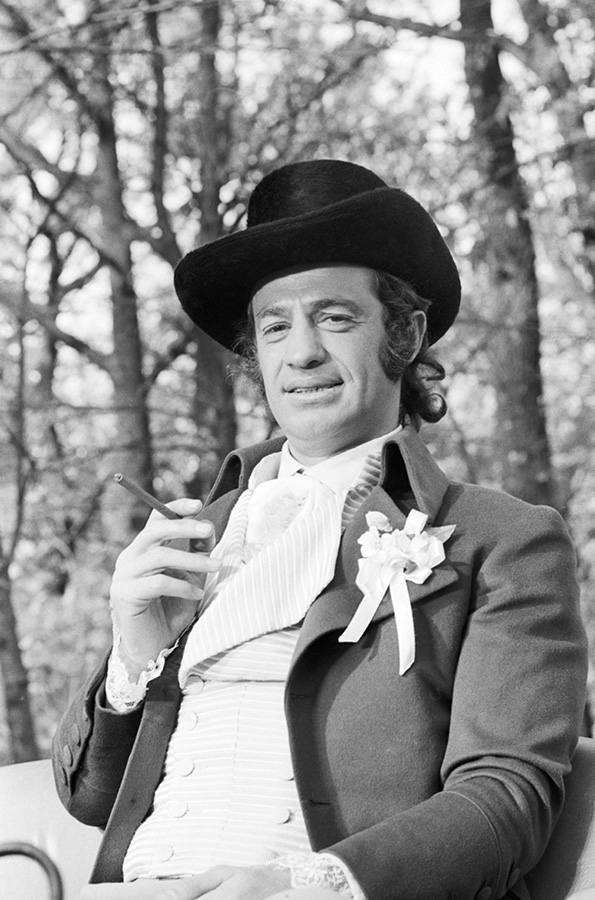 Jean-Paul Belmondo dans Les Mariés de l'an II (Jean-Paul Rappeneau, 1971) - © Georges Pierre