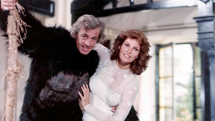 Jean-Paul Belmondo et Raquel Welch dans L'Animal (Claude Zidi, 1977) - © StudioCanal