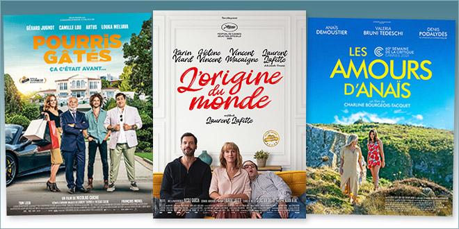 sorties Comédie du 15 septembre 2021 : L'Origine du monde, Pourris gâtés, Les Amours d'Anaïs