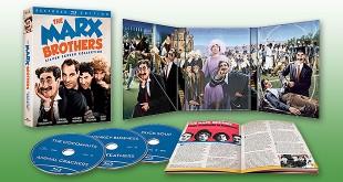 Les Marx Brothers en coffret Blu-ray restauration 4K