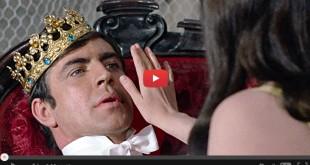 Alan Bates et Geneviève Bujold dans Le Roi de cœur (Philippe de Broca, 1966)