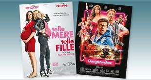 sorties Comédie du 29 mars 2017 : Telle mère, telle fille, Gangsterdam