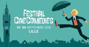 Lancement du premier Festival CineComedies du 27 au 30 septembre 2018 à Lille