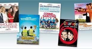 sorties Comédie du 25 avril 2018 : Amoureux de ma femme, Comme des garçons, Les Municipaux, Charade (rep.1963), Bottle Rocket (rep.1996)