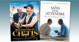 sorties Comédie du 27 février 2008 : Bienvenue chez les Ch'tis, Sans plus attendre (The Bucket List)