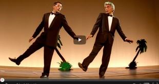 Alain Chabat et Gérard Darmon dans La Cité de la peur (Alain Berbérian, 1994)