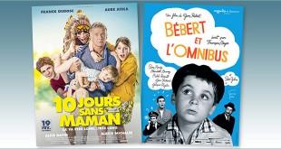 sorties Comédie du 19 février 2020 : 10 jours sans maman, Bébert et l'omnibus (1963)