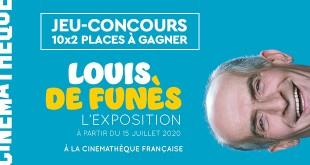 Jeu-concours : gagner vos places pour l'exposition Louis de Funès à la Cinémathèque française
