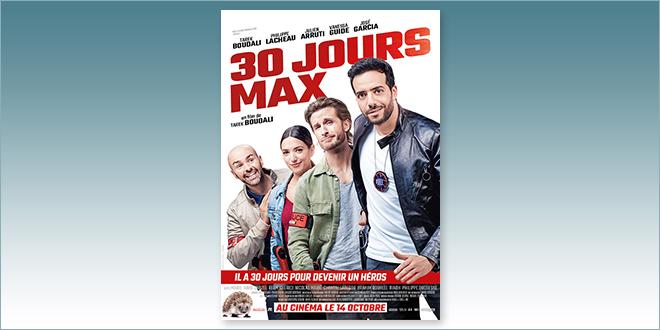 sorties Comédie du 14 octobre 2020 : 30 jours max