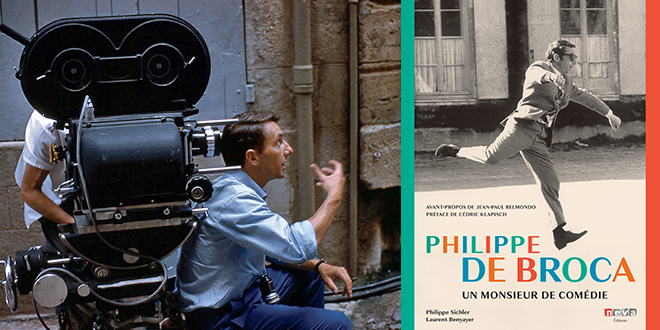 Philippe de Broca : Un monsieur de comédie de Laurent Benyayer et Philippe Sichler (Neva Éditions)