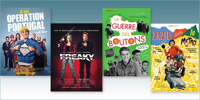 sorties Comédie du 23 juin 2021 : Opération Portugal, Freaky, La Guerre des boutons (1962), Zazie dans le métro (1960)