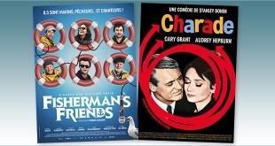 sorties Comédie du 7 juillet 2021 : Ficherman's Friends, Charade (1963)