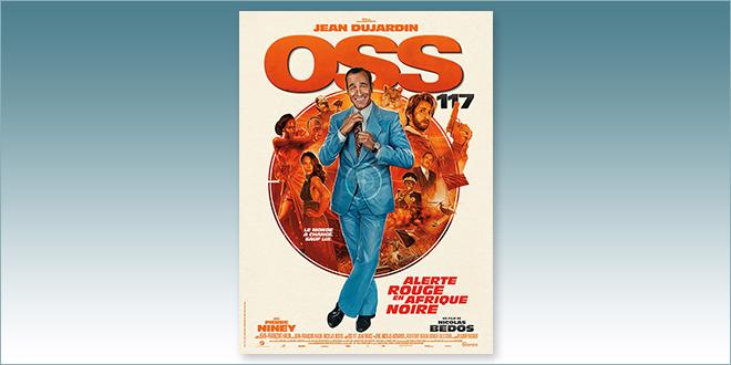 sorties Comédie du 4 août 2021 : OSS117 : Alerte rouge en Afrique noire-fp