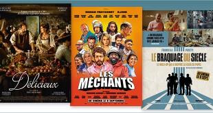 sorties Comédie du 8 septembre 2021 : Délicieux, Les Méchants, Le Braquage du siècle